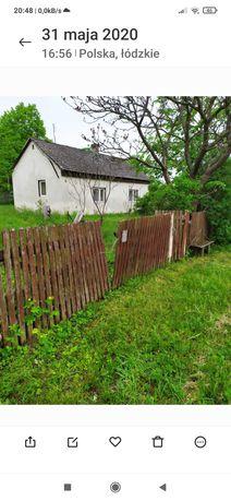 Dom   na działce.0,18ha w Polichno,przy drodze woj. 785 za 85000zł