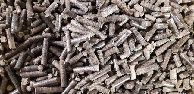 Продам дубовую пеллету полиэтиленовые мешки 15 кг. 4000 грн./тонна