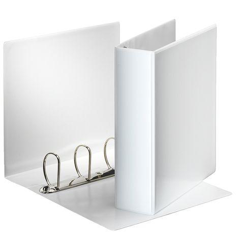 Папка-регистратор Esselte Панорамна 90 мм A4 4D/60 мм Белая (49706)