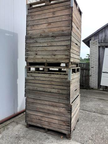 Skrzyniopalety  drewniane