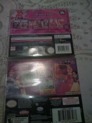 Jogos Nintendo 3ds.Princesas,Wink