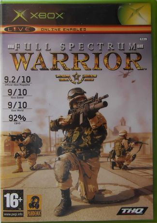 "VIDEO JOGO COMPLETO ""Full Spectrum Warrior"" / Xbox PAL"