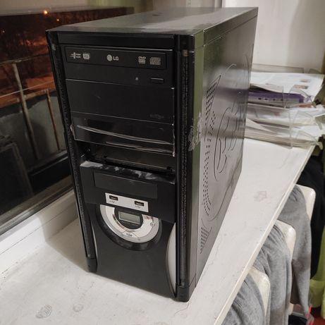 Системный блок с dvd-rom корпус компьютера с подсветкой