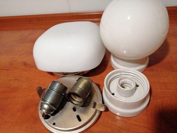 Lampy sufitowe klosze mleczne