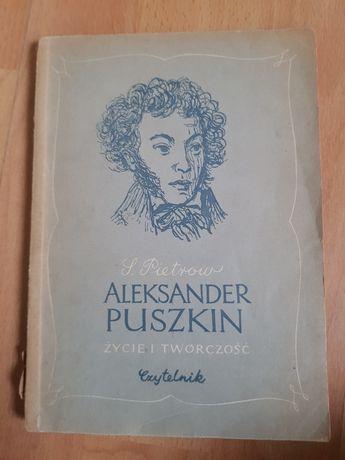 Aleksander Puszkin życie i twórczość Pietrow