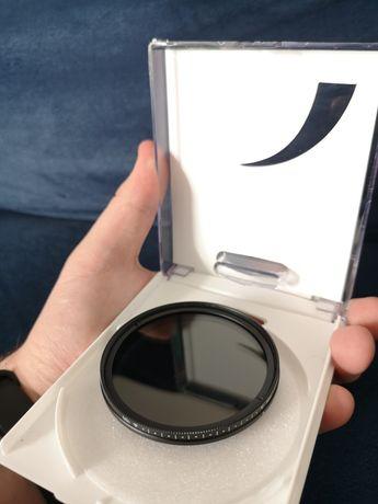 Filtr ND 58mm regulowany