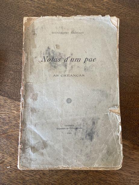 Livro classico colecao bernardino machado com dedicatoria do autor