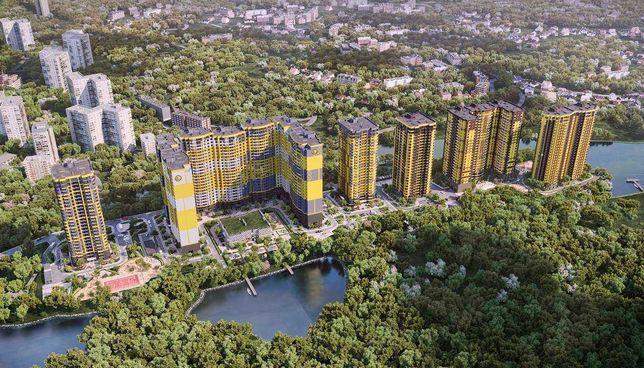 1-К квартира 39м2, ВИДОВАЯ, ЖК Медовый-2, метро Демеевская, Вокзальная