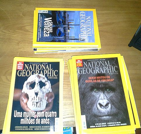 National geographic_ revistas por atacado