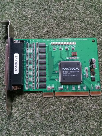 MOXA CP-168U Smartio C104H (2 шт карты последоват. портов)