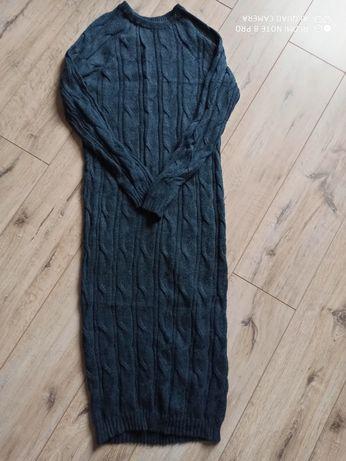 Трикотажне міді плаття