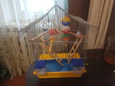 Шикарная клетка для попугая