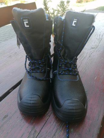 Buty robocze ocieplane zimowe 44 CERVA