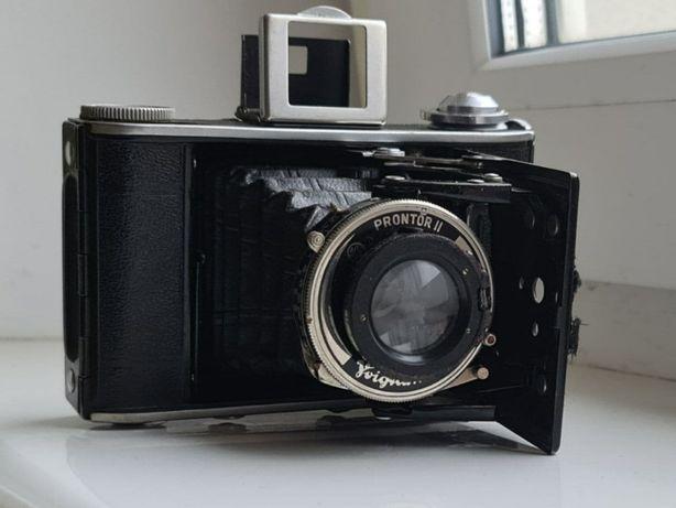 складная камера Prontor II voigtländer bessa 66 пленочный фотоаппарат