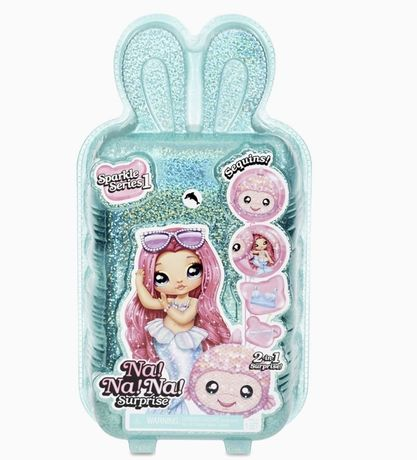 Na Na Na Surprise 2-in-1 Fashion Doll and Sparkly Sequined