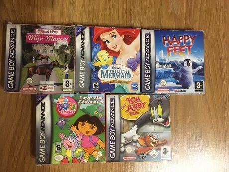 GBA. Kolekcja gier na Gameboy Advance, kompletne w pudełkach! Shrek!