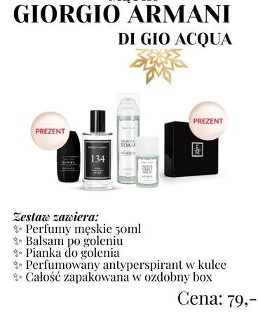 Zestaw Świąteczny na prezent Giorgio Armani