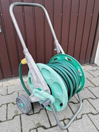 Wąż ogrodowy z wózkiem