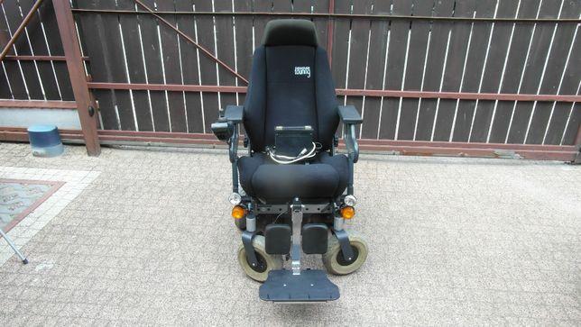 Wózek inwalidzki elektryczny INVACARE STORM XC,fotel typu Recaro,10kmh