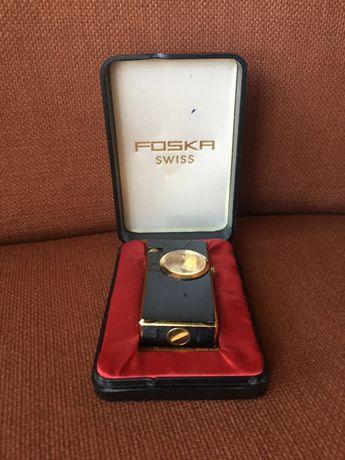 Isqueiro com relógio Foska Swiss