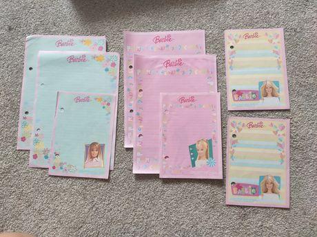 Karteczki Barbie