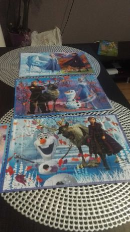 Puzzle frozen, kompletne