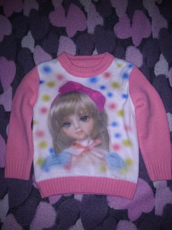 Детский свитер свитерок на девочку