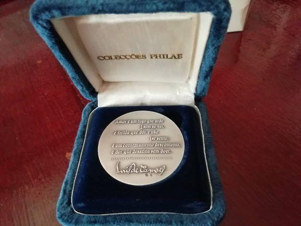 Medalha Camões ano 1999 da Philae