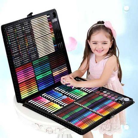 Детский набор для рисования 150 предметов   Набор для творчества
