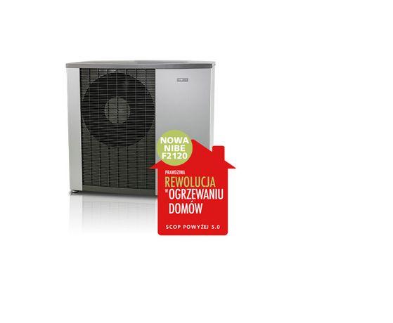 Pompa pompy ciepła NIBE F 2120 8 kW A+++ SCOP 5.0 SMO moce 12 16 20