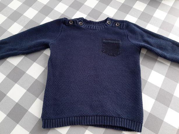 Sweterek H&M r.74 / sweter