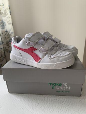 Кроссовки для девочки Diadora, 30 размер