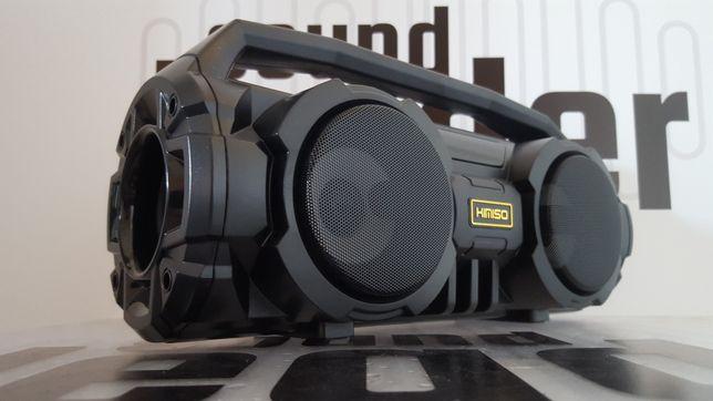 Boombox głośnik bezprzewodowy przenośny bluetooth radio