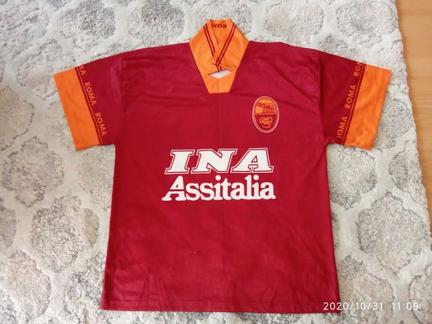 Koszulka AS Roma Batistuta kolekcjonerska replika