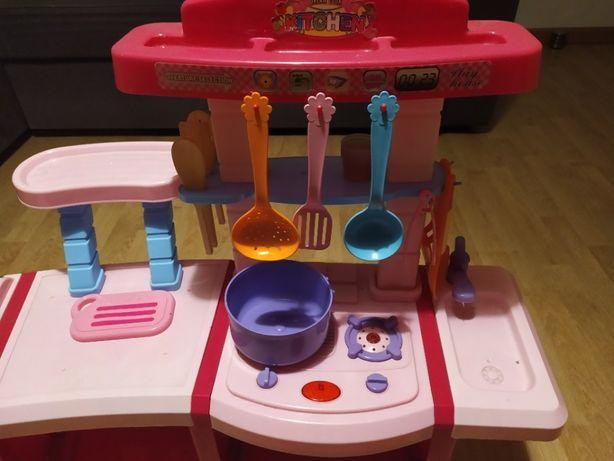 Kuchnia dziecięca plus akcesoria