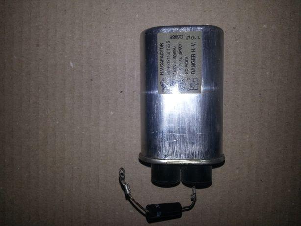 Высоковольтный конденсатор микроволновки Daewoo KOC -9А4Т