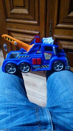 Duży holownik Dickie Toys pomoc drogowa zabawka