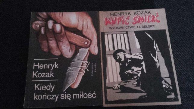 Henryk Kozak-2książki