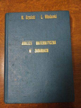 Analiza matematyczna w zadaniach-część druga-Krysicki, Włodarski