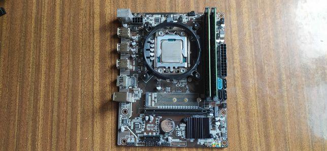 Комплект мать+проц+память (Intel 6 ядер 12 потоков, 16 GB + Кулер)