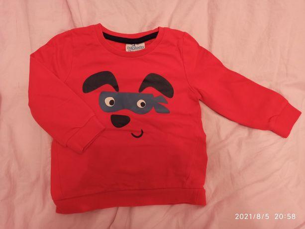 Czerwona bluza 74