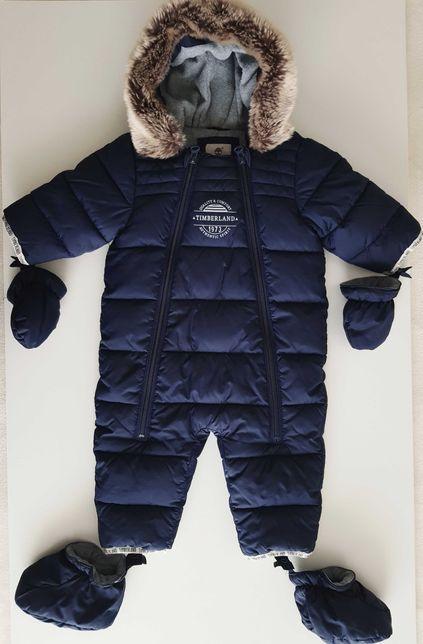 Ciepły kombinezon zimowy niemowlęcy Timberland rozm 67 68 74