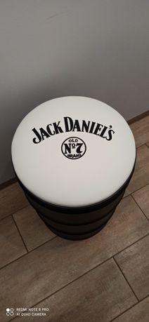 Pufa hoker beczka Jack Daniels Harley Davidson