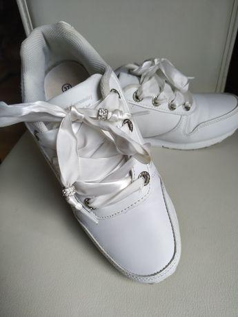 Adidasy białe r. 37