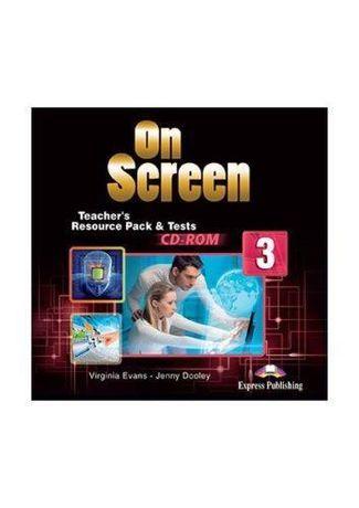 On Screen 3 Teacher's Resource Pack & Tests CD-ROM