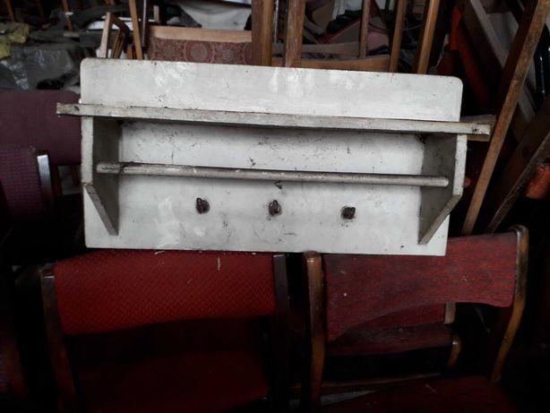 Półka wisząca kuchenna stara prl retro