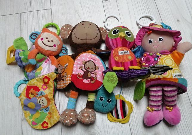 Zestaw zabawek Lamaze do wózka fotelika