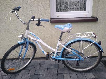 """Rower dla dziewczynki Romet koła 24"""""""