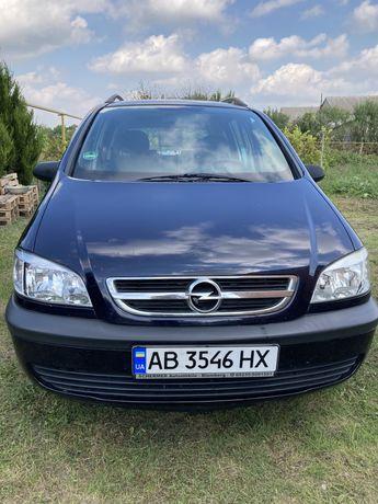 Opel Zafira 1.8l газ/бензин 2003г.