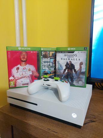 Konsola Xbox One S 1TB ( gwarancja, 3 gry, 1 pad)